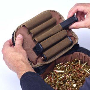 Ammo Transport Bag Multicam Black 9mm Magazines