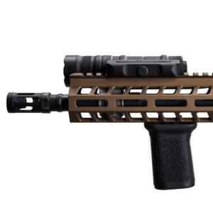 Optimized Weapon Light Mounted Profile